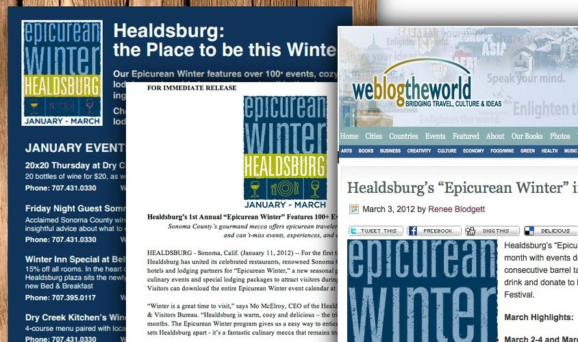 Healdsburg Media Results, Wine PR Firm, Wine PR Agency, Los Angeles Travel PR Agency, Wine Marketing Agency, Los Angeles Wine PR Agency